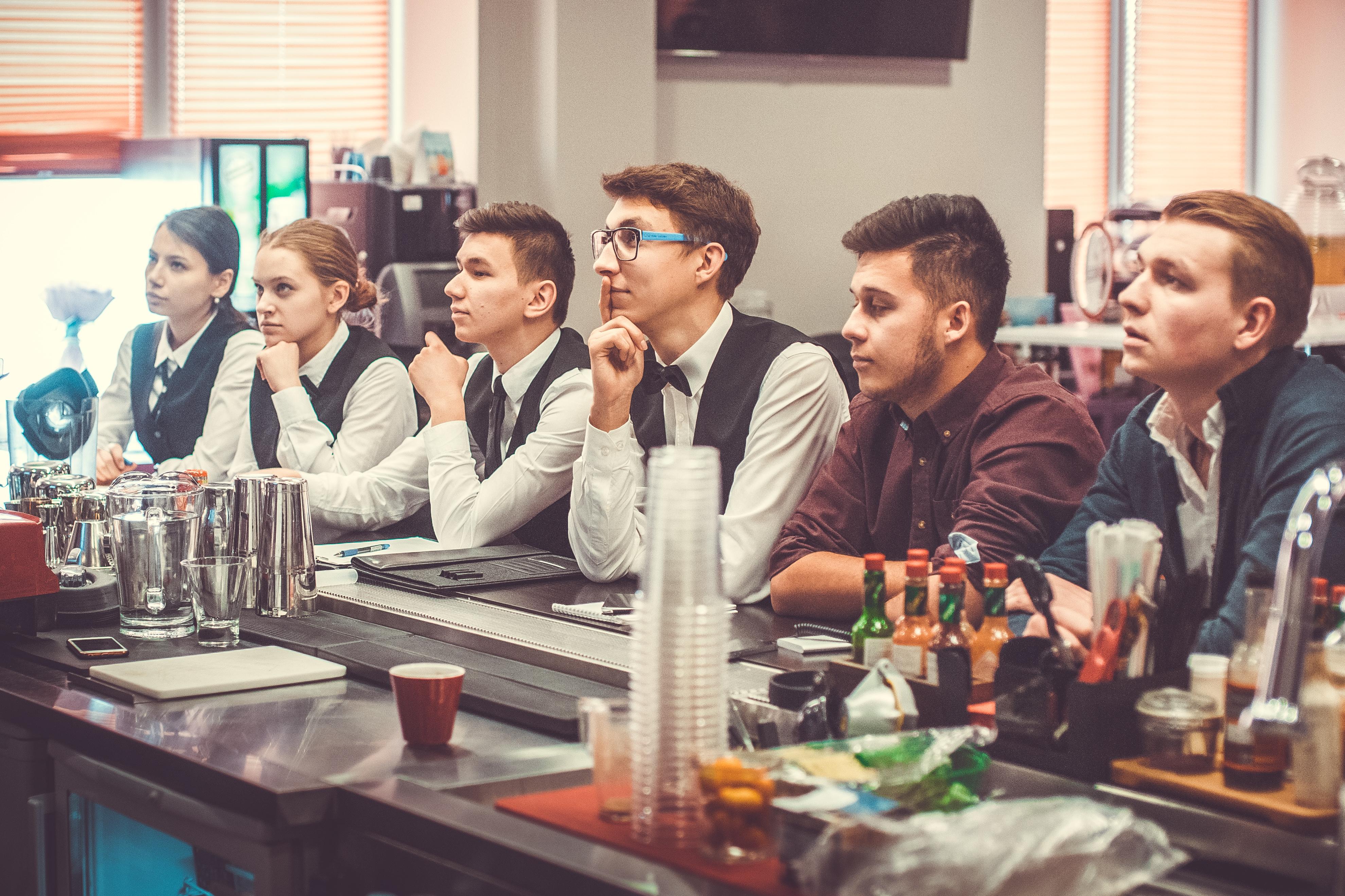 Ученики школы Инноваций от «Комплекс-бара»